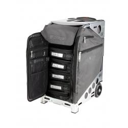 Kufer na kółkach ZÜCA Pro Artist - Graphite Gray on Silver Frame
