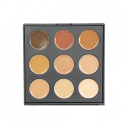 Paleta Morphe Brushes - 9FW - Color Warm Foundation Palette