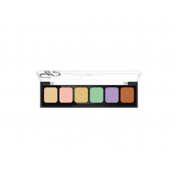 Korygująca i tuszująca paleta kamuflażu - Golden Rose -Correct&Conceal Camouflage Cream Palette