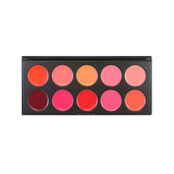Morphe Brushes - 10LN – Bam Lip Palette - paleta pomadek do ust