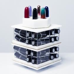 Przezroczysta torba Morphe Brushes ZMB9 - 'Stowy' Set Bag