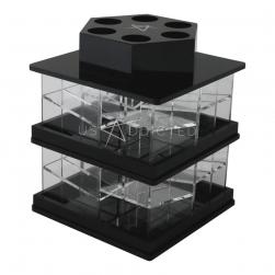 USaddicted - Mini Spinning Lipstick Tower - Black