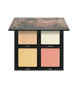 Paleta rozświetlaczy Huda Beauty - 3D Highlight Palette -The Pink Sands Edition