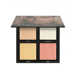 Paleta rozświetlaczy Huda Beauty -3D Highlight Palette -The Pink Sands Edition