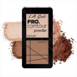 Zestaw do konturowania - L.A.Girl - PRO Contour Powder - Fair