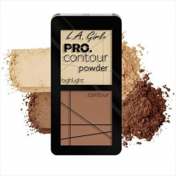 Zestaw do konturowania - L.A.Girl - PRO Contour Powder - Light