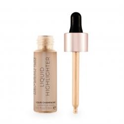 Rozświetlacz w płynie  - Makeup Revolution - Liquid Highlighter - Champagne