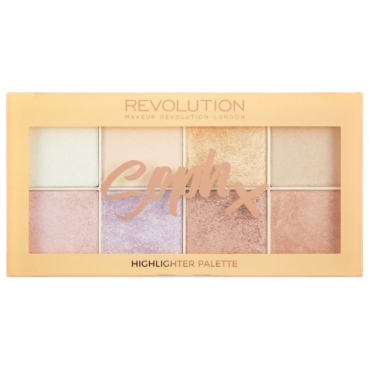 Paleta Rozświetlaczy  - Makeup Revolution - Soph X Highlighter Palette