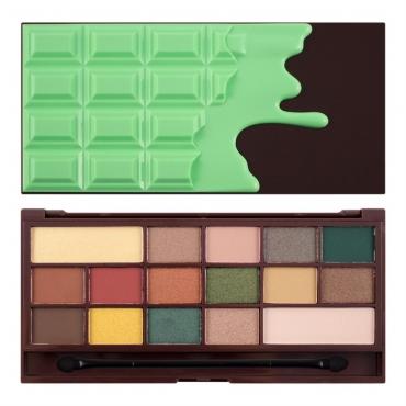 Paleta cieni - Makeup Revolution - Chocolate Mint