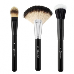 Zestaw pędzli  - BH Cosmetics -  Blending Face Trio  - Brush Set