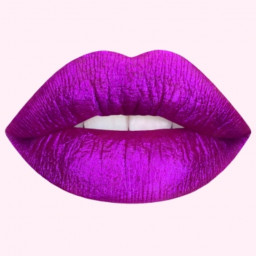 Pomadka do ust Lime Crime Metallic Velvetines  - Passionfruit