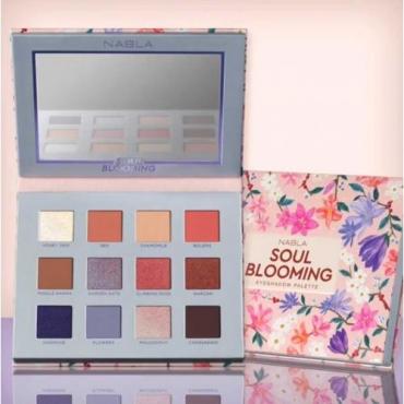 Paleta cieni  - Nabla - Soul Blooming Eyeshadow Palette