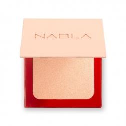 Pudrowy rozświetlacz - NABLA - Shade & Glow - Angel
