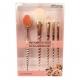 Zestaw pędzli - Crownbrush - Enchanted Rose - Full Face Brush Set