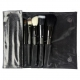 Zestaw pędzli - Crownbrush - Professional Gunmetal Brush Set - 802