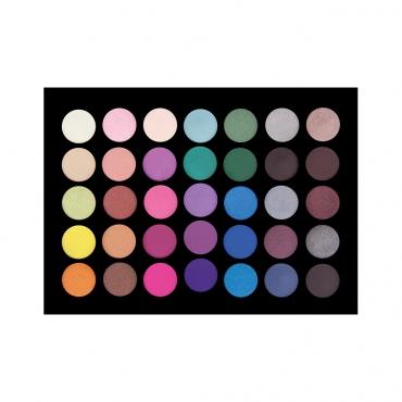Paleta cieni - Crownbrush - 35 Colour Smoke It Out Too Palette