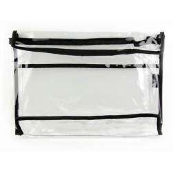 Crownbrush - CC2 Clear Cosmetic Bag - Medium