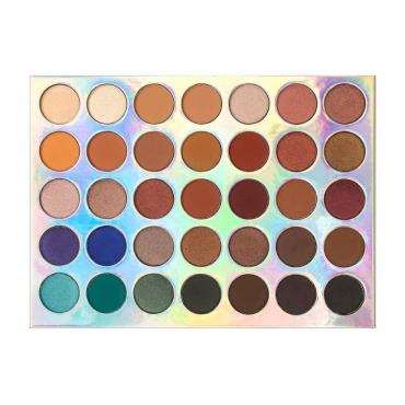 Paleta cieni - Crownbrush - 35 Colour Tuscany  Eye Shadow Palette