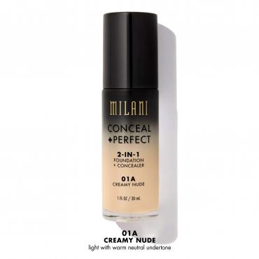 Podkład/korektor 2 w 1 Milani - Conceal + Perfect 2in1 - Creamy Nude