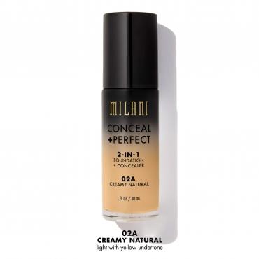 Podkład/korektor 2 w 1 Milani - Conceal + Perfect 2in1 - Creamy Natural