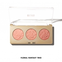 Milani Rose Trio Powder Blush - FLORAL FANTASY