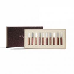 Zestaw szminek matowych Anastasia Beverly Hills - Liquid Lipstick 10-Piece Collection - Light Neutrals