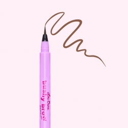 Flamaster do brwi - Lime Crime - Bushy Brow Pen - Baby Brown