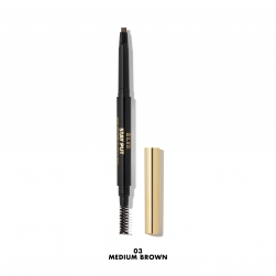 Kredka do brwi - Milani  - Stay Put Brow Sculpting Mechanical Pencil - MEDIUM BROWN