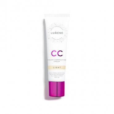 Krem CC  7in1 - LUMENE - CC Color Correcting Cream - Light