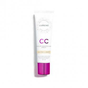 Krem CC  7in1 - LUMENE - CC Color Correcting Cream - Ultra Light