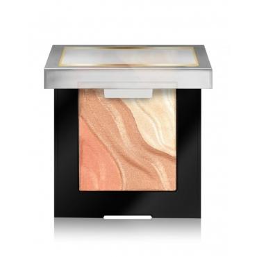 Paleta do makijażu - Milani - Spotlight Face & Eye Strobe Palette - Sun Light