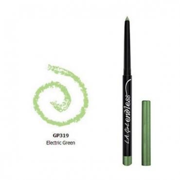 Kredka do oczu - L.A. Girl USA - Endless Auto Eyeliner Pencil - Neon Blue