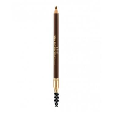 Pomada do brwi w ołówku - Milani - STAY PUT Pomade Pencil - 05 Dark Brown