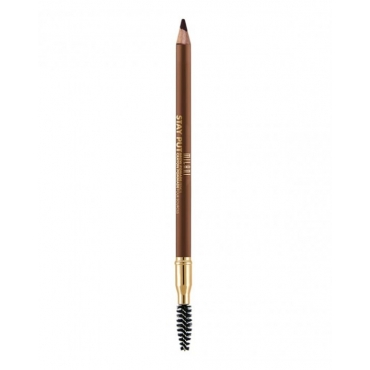 Pomada do brwi w ołówku - Milani - STAY PUT Pomade Pencil - 05 Dark Brown