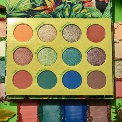 Paleta cieni Colourpop - Lush Life - Pressed Powder Shadow Palette