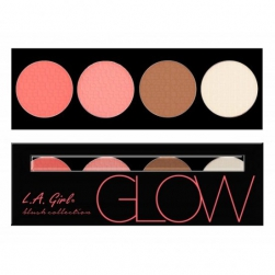 Paleta L.A. Girl USA - Beauty Brick Blush - Glow