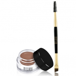 Pomada do brwi + pędzelek Milani Stay Put Brow - Soft Brown