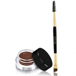 Pomada do brwi + pędzelek Milani Stay Put Brow - Medium Brown