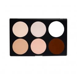 Paleta Morphe Brushes - 06CF - Cream Foundation/Highlight Palette