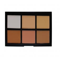 Paleta Morphe Brushes - 06PC - Cool Pro Definition Palette