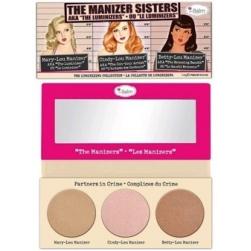 Paleta rozświetlaczy theBalm The Manizer Sisters