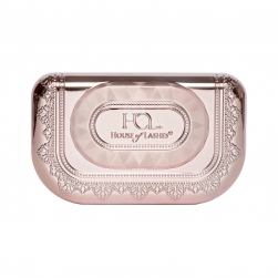 Pudełeczko na rzęsy House of Lashes - Precious Gem Lash Case Rose Quartz