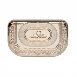 Pudełeczko na rzęsy House of Lashes - Precious Gem Lash Case  - Champagne Gold
