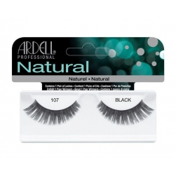 Rzęsy  Ardell - Natural Lashes - 107  Black