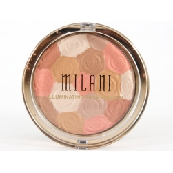 Milani Illuminating Face Powder - Amber Nectar - puder rozświetlający