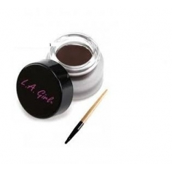 Kremowy Eyeliner - L.A Girl - Gel Liner Kit - Dark Brown
