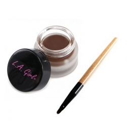 Kremowy Eyeliner - L.A Girl - Gel Liner Kit - Brown
