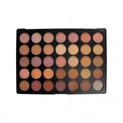 Morphe Brushes - 35T - 35 Color Tauppe Palette - paleta cieni matowych i błyszczących.