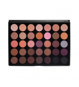 Morphe Brushes - 35W - 35 Color Warm Palette - paleta cieni