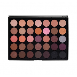 Morphe Brushes - 35W- 35 Color Warm Palette - paleta cieni